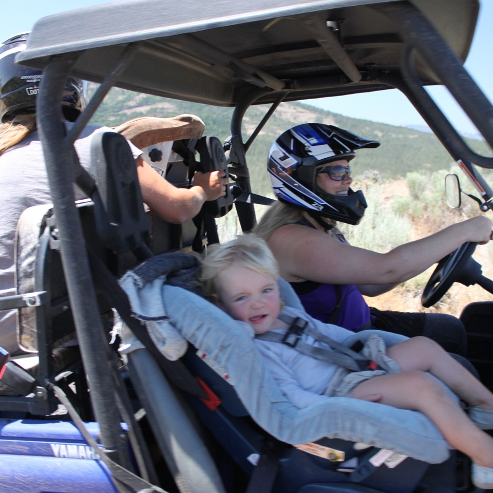 ATV Tours for Toddlers