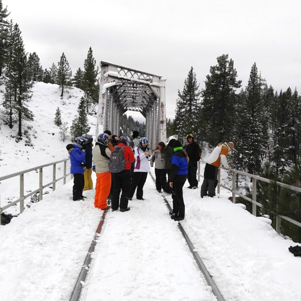 Groups Are Welcome for Snowmobile Rides at Explore Sierra Touring Company