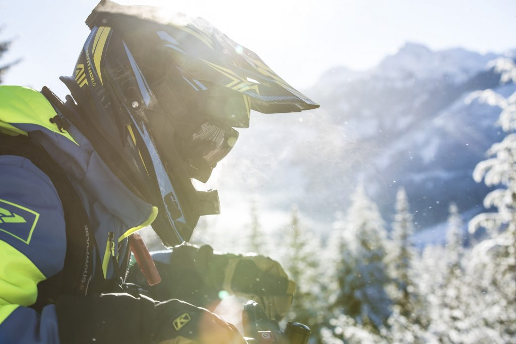 Snowmobiling in the Hidden Sierra Mountains