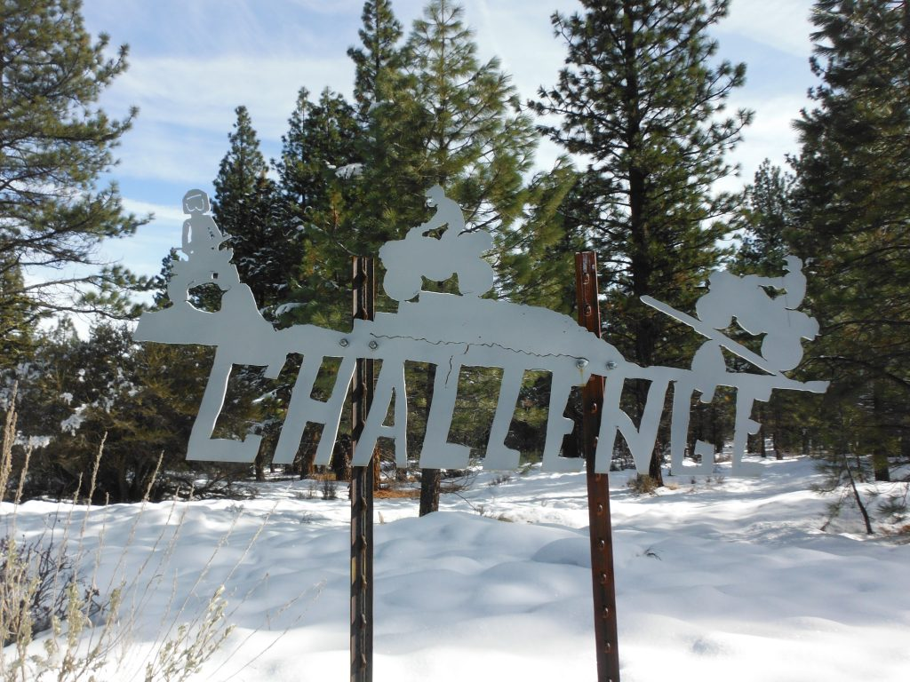 Explore! Sierra Touring Company ATV Trail Sign