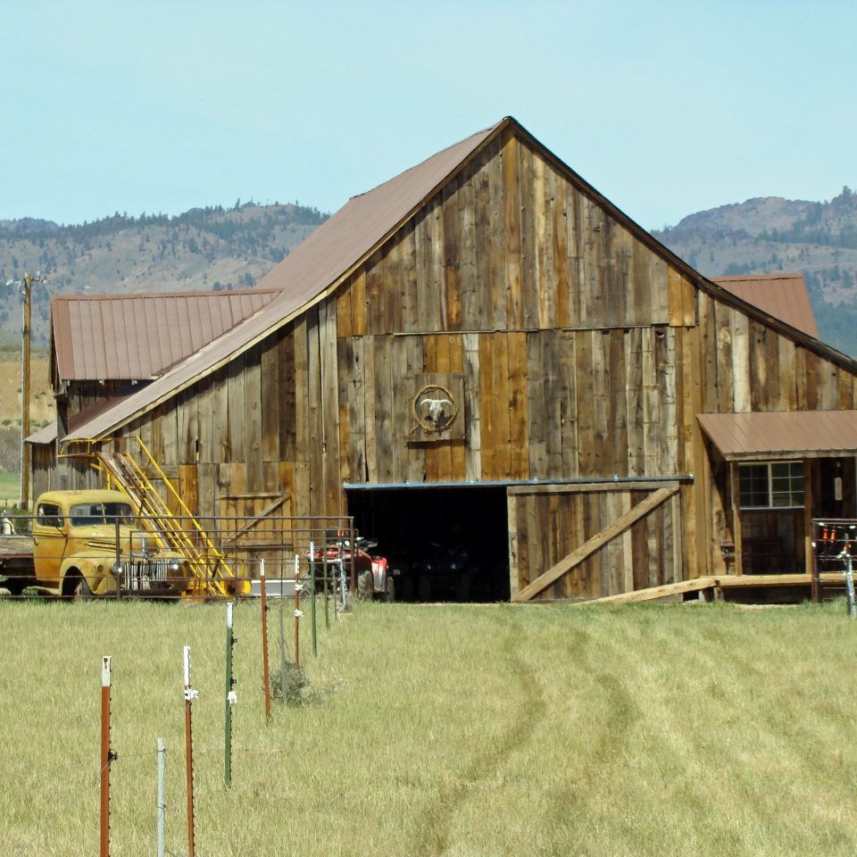 Diamond S. Ranch Barn in Sierra Valley