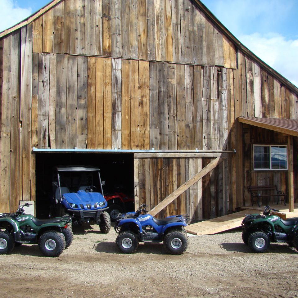 Diamond S. Ranch Barn in Sierra Valley CA with ATV Tours