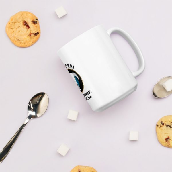 Explore Sierra Touring Company 15 oz. Mug with milk and cookies