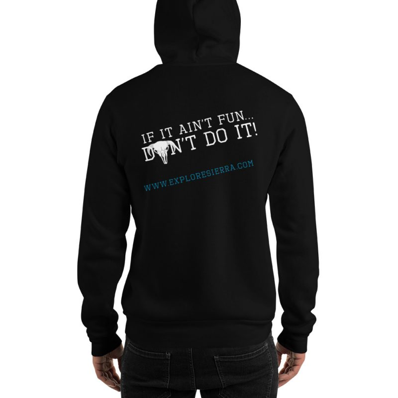 If It Aint Fun Dont Do It Black Sweatshirt