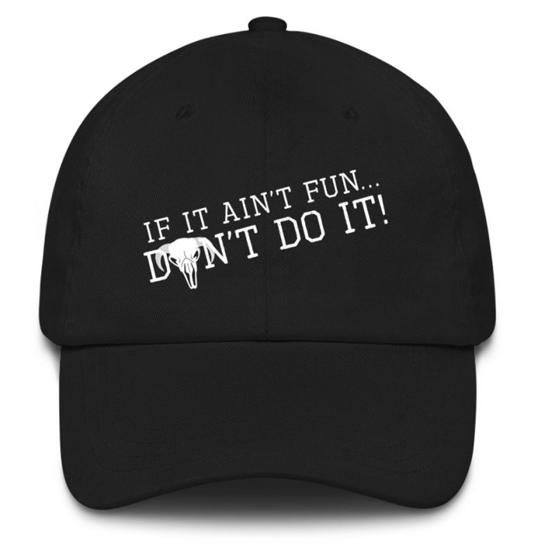 If It Aint Fun Dont Do It Embroidery Hat