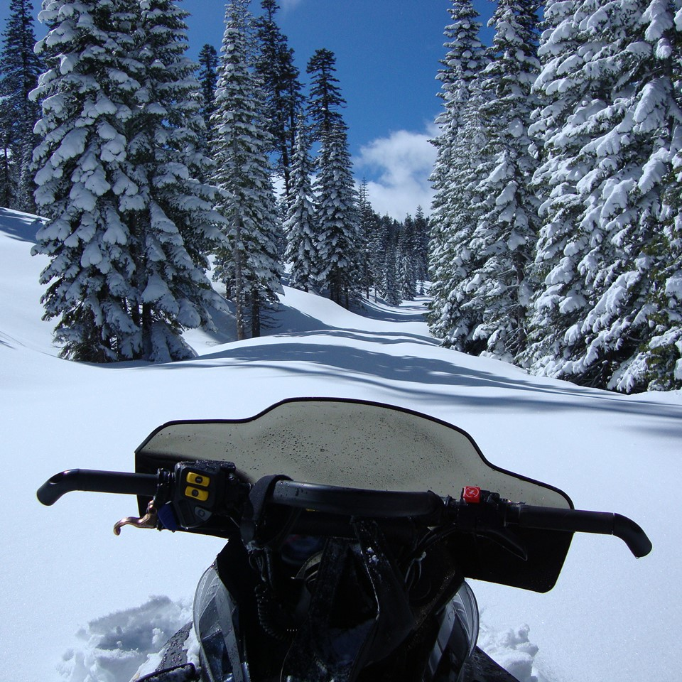 Snowmobile Tours with Explore and then stay at Chalet View Lodge