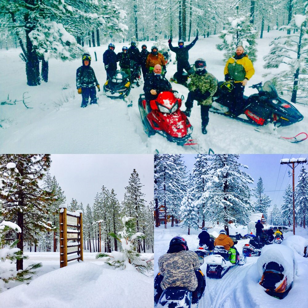 Explore Sierra Touring Company offer Snowmobile Adventures and Tours in Northern California