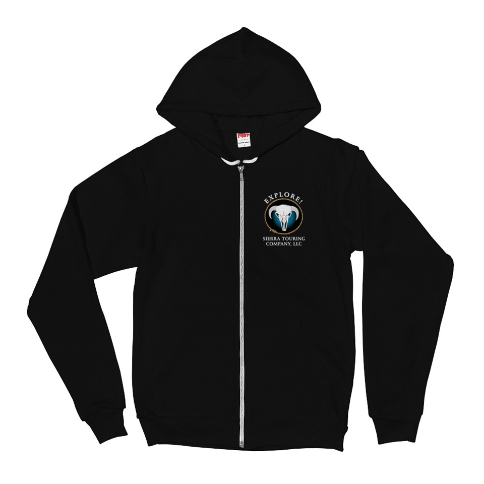 Explore Sierra Touring Company Zip Up Sweatshirt