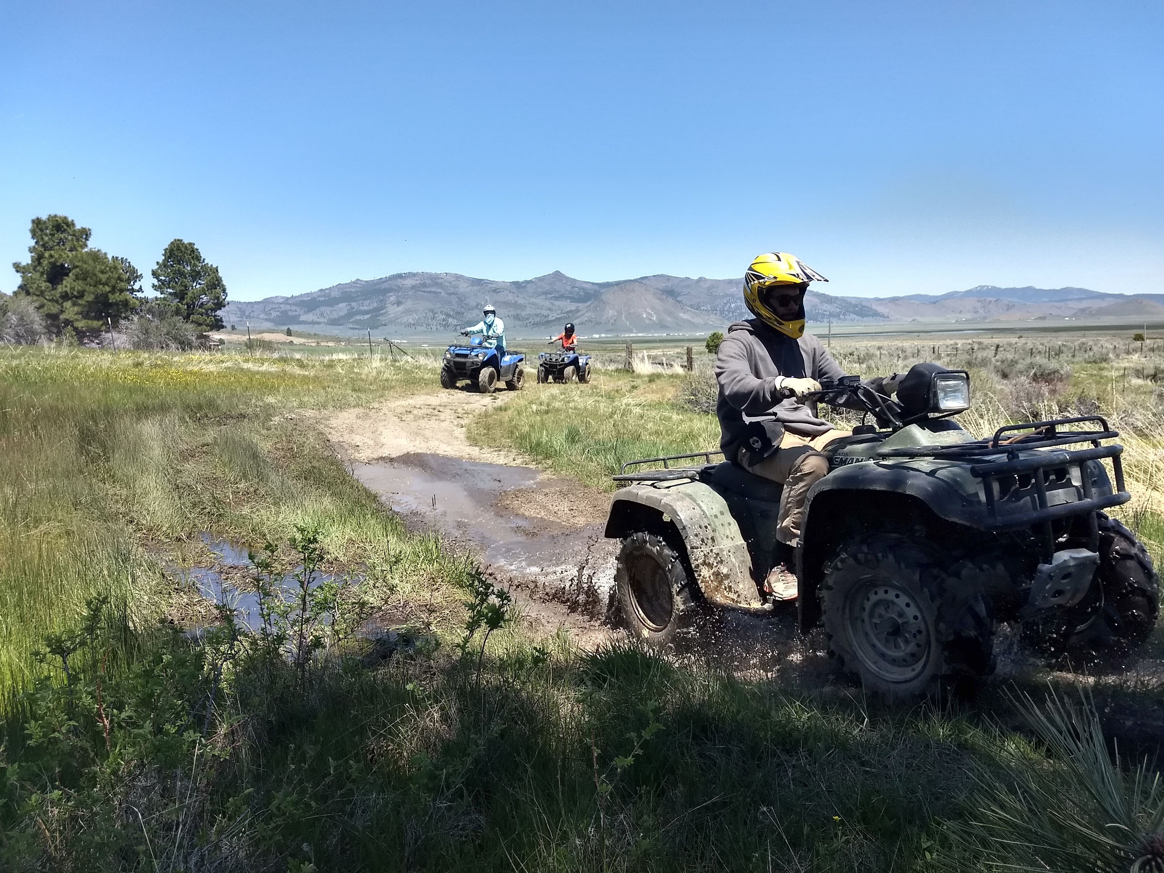Four-Wheeler ATV
